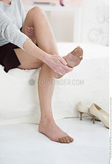 FOOT PAIN IN A SENIOR