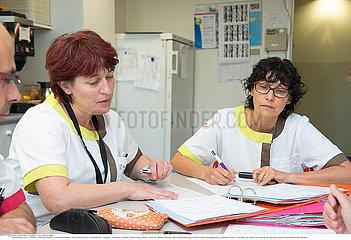 HOSPITAL MEETING