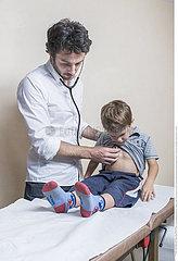 AUSCULTATION  CHILD
