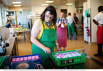 Reportage_250 Wohnprojekt Dorf geistig Behinderte / AIGUES-VERTES FOUNDATION