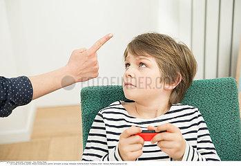 PARENT-CHILD CONFLICT