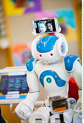 Reportage_204 NAO Schul-Roboter /NAO ROBOT