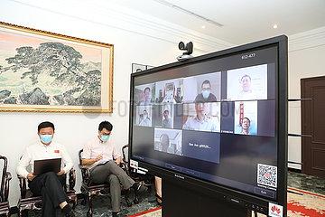 KUWAIT-KUWAIT CITY-CHINESE MEDICAL EXPERTS-VIDEO WORKSHOP