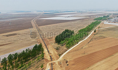 CHINA-LIAONING-CHINA-RUSSIA-Erdgas-Pipeline-Bauweise (CN)