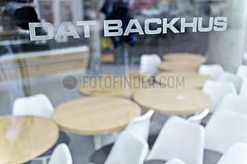 geschlossene Filiale der Bäckereikette 'Dat Backhus'