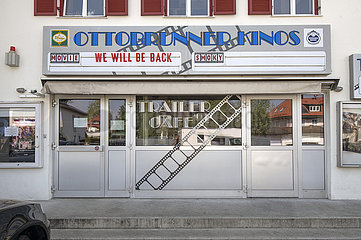 Geschlossenes Kino in Ottobrunn  April 2020