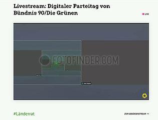 Digital Green party conference - Corona crisis