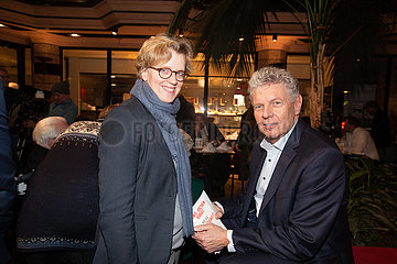 Hans-Jochen Vogel and Dieter Reiter in Munich