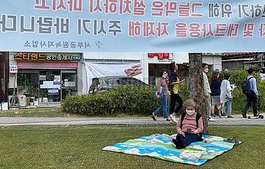 SOUTH KOREA-SEOUL-EVERYDAY LIFE QUARANTINE