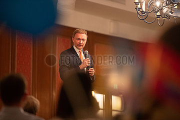 Christian Lindner in Munich