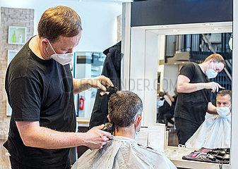 Friseur in Corona-Zeiten