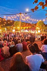 Gartentheater im gro?en Garten in Hannover Herrenhausen.