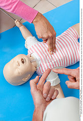 Serie Reportage_115 Erste Hilfe Kurs /First aid