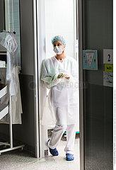 Reportage_163 Intensivstation / Hospital