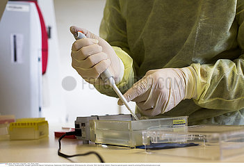 Reportage_219 Labor für Virologie/Laboratory of virology