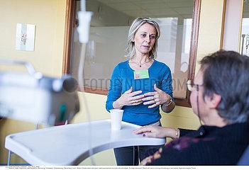 Reportage_229 Chemotherapie Brustkrebs / Hospital