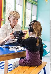 Schuleignungstest /Medical check-up