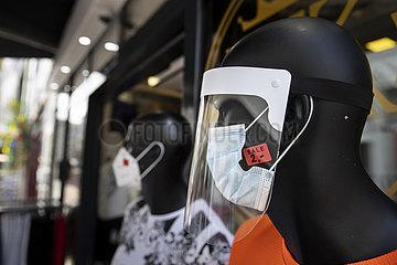 Schutzmasken im Sale