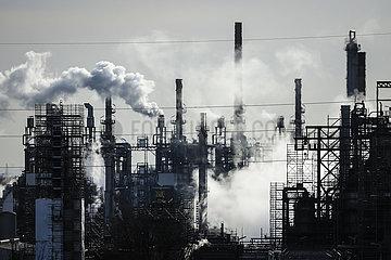 BP Ruhr Oel Erdoelraffinerie  Werk Scholven  Gelsenkirchen  Ruhrgebiet  Nordrhein-Westfalen  Deutschland