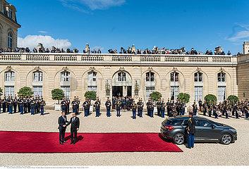 Inauguration of new French President Emmanuel Macron