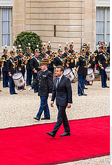 Inauguration of new French President Emmanuel Macron