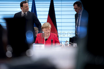 Angela Merkel  Jens Spahn  Kabinett