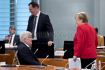 Merkel  Seehofer  Kabinett
