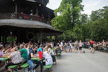 Biergärten in Bayern öffnen wieder