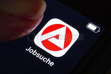 Jobsuche App der Bundesagentur fuer Arbeit