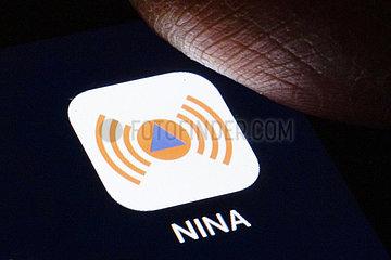 NINA App des BBK