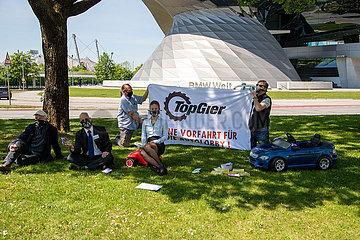 XR Protest gegen mögliche Abwrackprämie