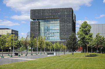 ThyssenKrupp Hauptverwaltung  Essen  Ruhrgebiet  Nordrhein-Westfalen  Deutschland