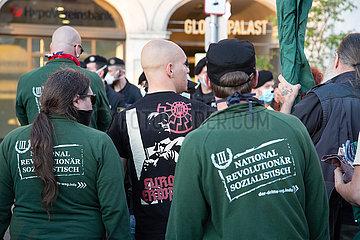Neonazis demonstrieren gegen den Tag der Befreiung in München