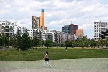 Deutschland  Berlin - neues Wohnquartier am Gleisdreieck  Naehe Potsdamer Platz