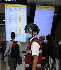 ITALIEN-ROM-COVID-19-AIRPORT-MASSNAHMEN