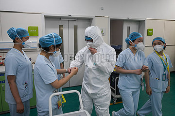CHINA-ZHEJIANG-Hangzhou-Kinderklinik-PFLEGT (CN)