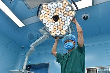CHINA-INNER MONGOLIA-HOHHOT-Krankenschwester (CN)
