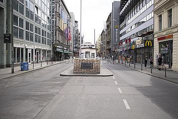 Checkpoint Charlie Berlin - Coronavirus Crises