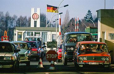 Innerdeutsche Grenze nach dem Mauerfall