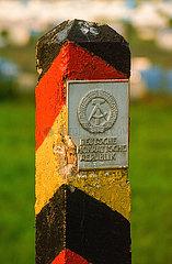 Grenzstein der DDR