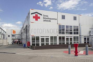 Corona-Behandlungszentrums Jaffestrasse