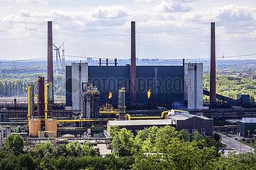 Kokerei Prosper  Industrielandschaft im Ruhrgebiet  Bottrop  Ruhrgebiet  Nordrhein-Westfalen  Deutschland