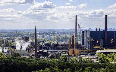 Kokerei Prosper und Klaeranlage Bottrop  Industrielandschaft im Ruhrgebiet  Bottrop  Ruhrgebiet  Nordrhein-Westfalen  Deutschland