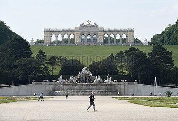ÖSTERREICH-WIEN-Schloss Schönbrunn-WIEDERERöFFNUNG
