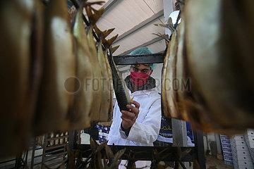 MIDEAST-GAZA-Eid al-Fitr