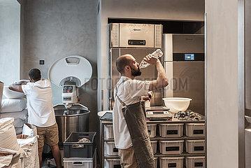 Traditionelles Bäckerhandwerk in München
