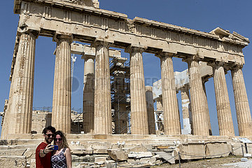 GREECE-ATHENS-ARCHAEOLOGICAL SITES-REOPENING