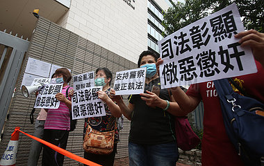 CHINA-HONG KONG-COURT-RIOT INSTIGATORS-PROCEEDINGS-ADJOURNMENT (CN)