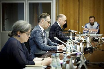 BM Maas bei Viko DEU-PSE Lenkungsausschuss
