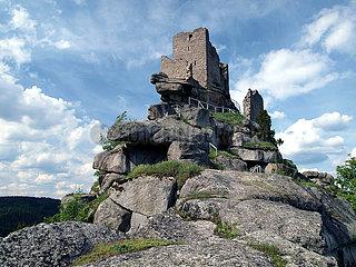 Granit Burg Flossenbuerg